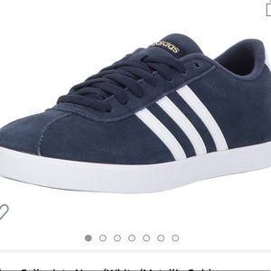 Adidas blue suede sneakers 9.5
